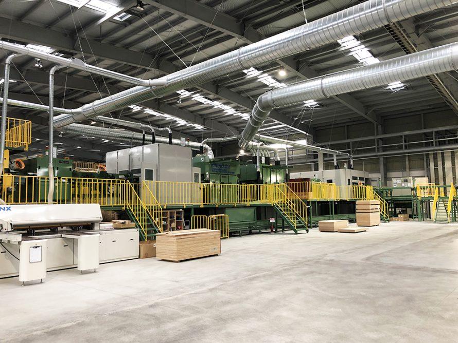 施工写真:新栄合板工業㈱大分工場4