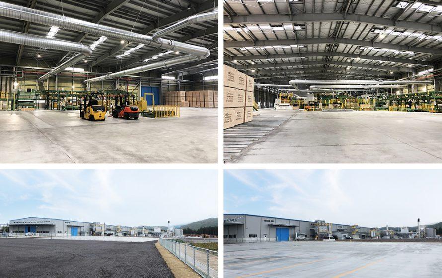 施工写真:新栄合板工業㈱大分工場5