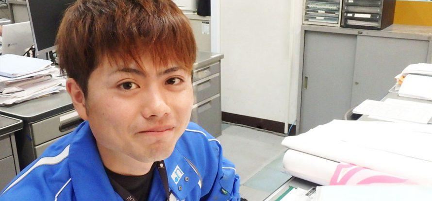 社員写真:阿部 駿太郎