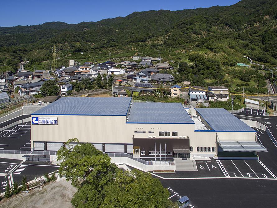 施工写真:株式会社鳥繁産業本社工場新築給排水衛生設備工事1
