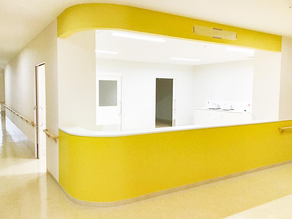 施工写真:膳所病院新築工事2