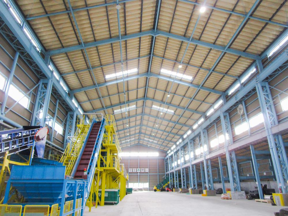 施工写真:環境整備産業三佐工場2
