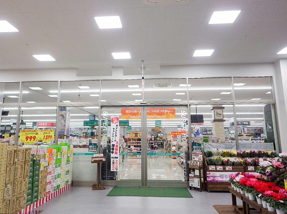 施工写真:HIヒロセSUC竹田店新築工事3