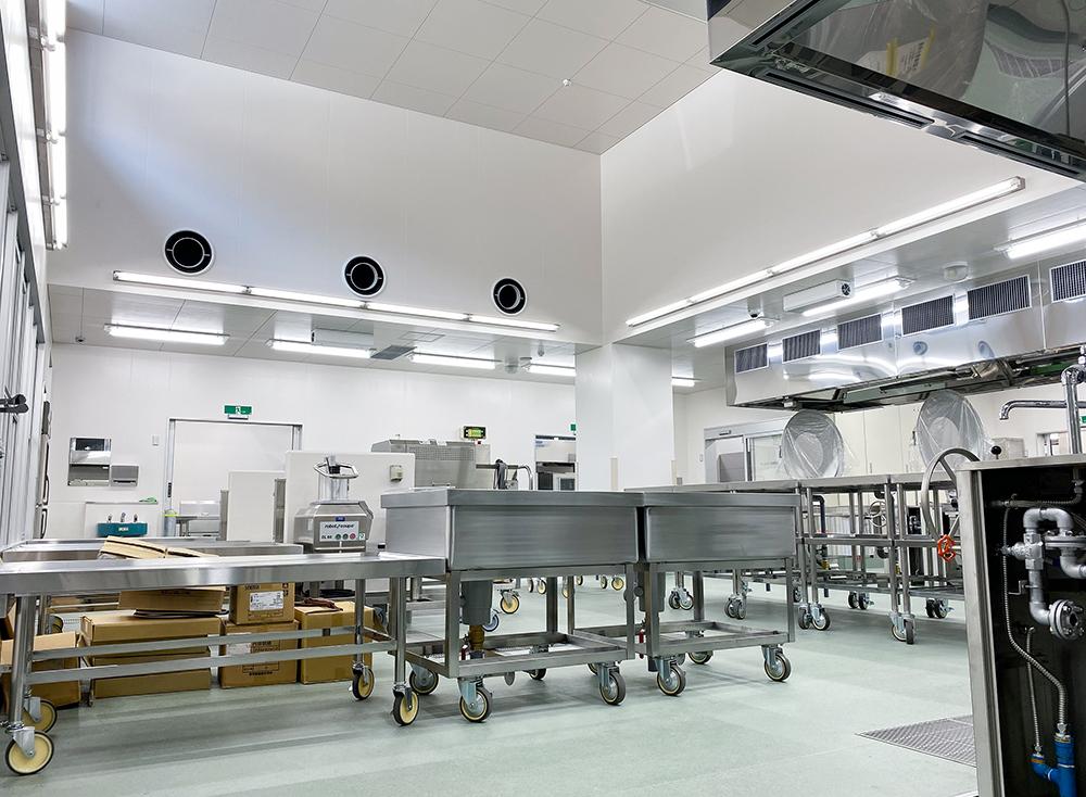 施工写真:杵築市学校給食センター建設機械設備工事4