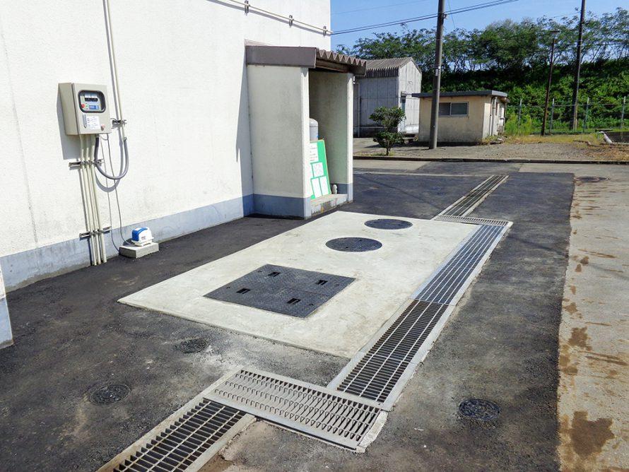 施工写真:平成27年度 建 大 第2-1号大津留浄水場ほか浄化槽転換工事2