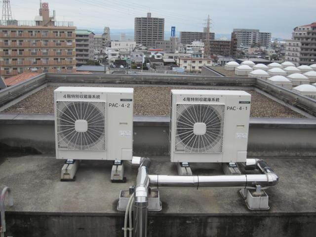 施工写真:平成27年度 施第104-7号県図書空調自動制御設備更新工事4
