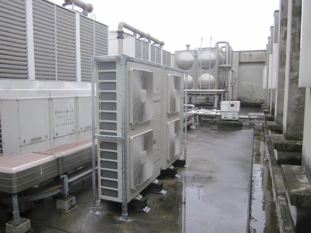 施工写真:平成27年度 施第104-7号県図書空調自動制御設備更新工事5