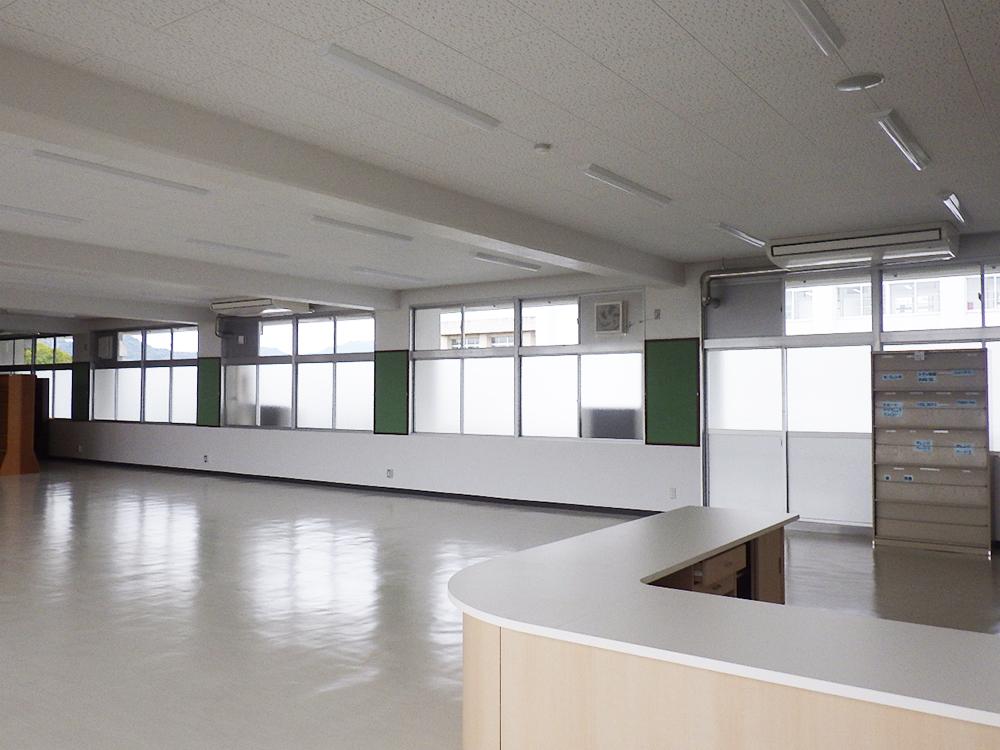 施工写真:令和元年度 建大第51-3号 大分東管理棟内部改造機械工事2