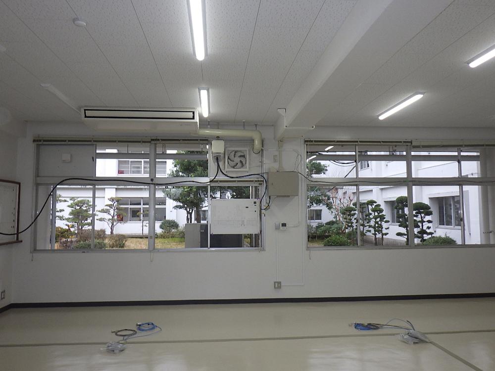 施工写真:令和元年度 建大第51-3号 大分東管理棟内部改造機械工事5