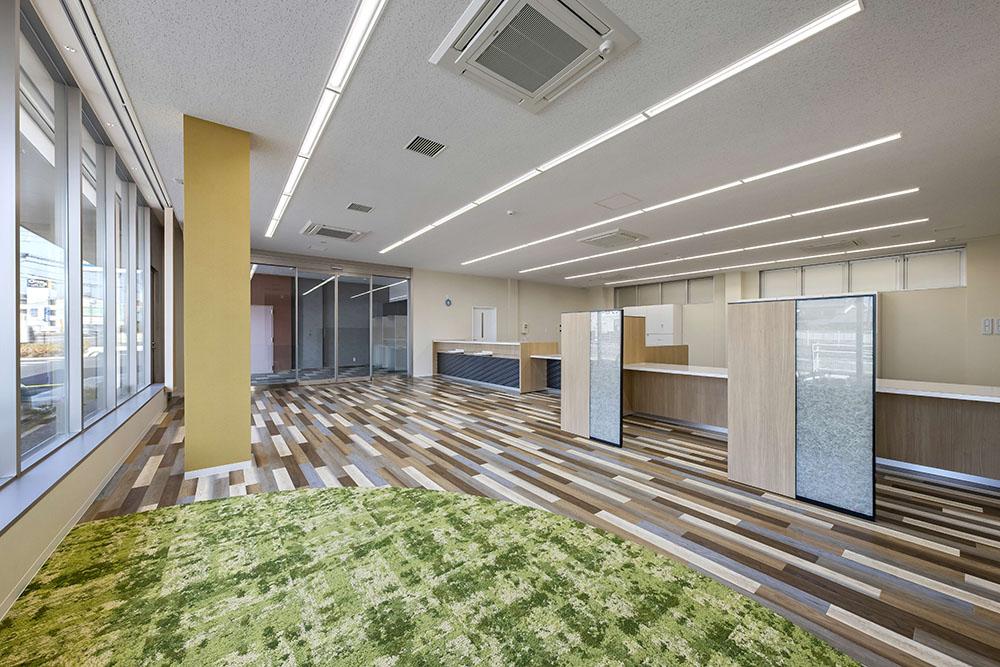 施工写真:大分県信用組合大在支店新築工事3