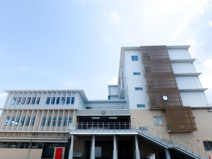 施工写真:碩田中学校3