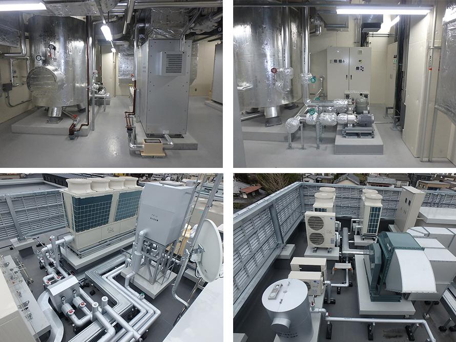 施工写真:由布市湯布院地域複合施設建設(機械設備)工事2