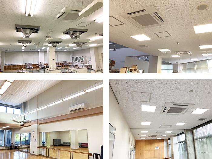 施工写真:令和2年度はさま未来館空調改修設備工事3