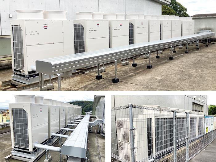 施工写真:令和2年度はさま未来館空調改修設備工事4
